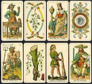 Antiguo tarot italiano